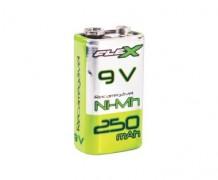 Bateria 9v Recarregável 250mAh