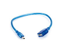 Cabo Adaptador USB 20cm – USB A Macho X Micro USB (V8)