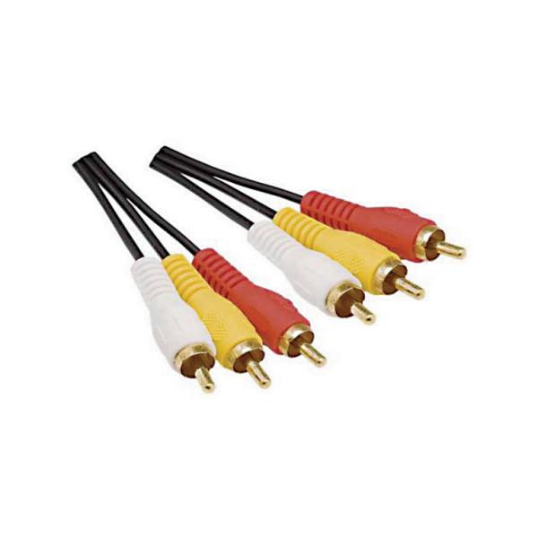 Cabo-3+3-RCA-2m-Plug-ponta-fechada-dourado