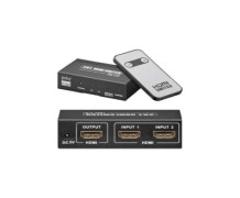 Switch HDMI 2 Entradas – 1 Saída