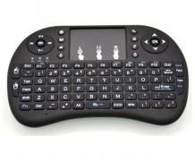 Mini teclado sem fio com touchpad mouse