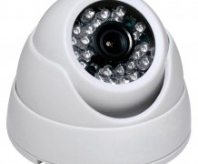 CAMERA DOME COM INFRA 3.6MM 2MP – 36 AHD