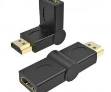 ADAPTADOR HDMI FÊMEA X HDMI MACHO 180º – EMENDA
