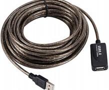 CABO USB EXTENSOR AMPLIFICADO – 15M